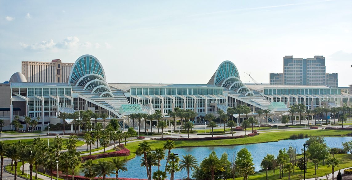 Assembly 2022 will be held at the Orange County Convention Center in Orlando, FL